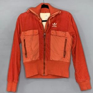 Adidas Originals Orange Corduroy Jacket